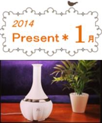 2014年☆1月プレゼント